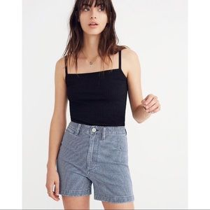 Madewell Square Neck Tank Top